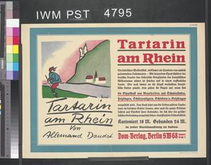 Tartarin am Rhein [Tartarin on the Rhine]