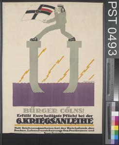 Bürger Cölns - Sechste Kriegsanleihe [Citizens of Cologne - Sixth War Loan]