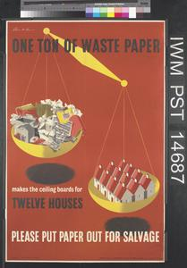 One Ton of Waste Paper
