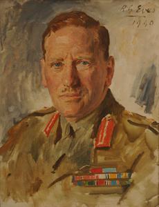 Lieutenant-General C J E Auchinleck CB, CSI, DSO, OBE