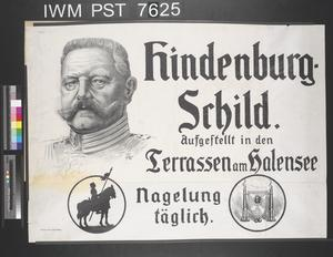 Hindenburg Schild [Hindenburg Shield]
