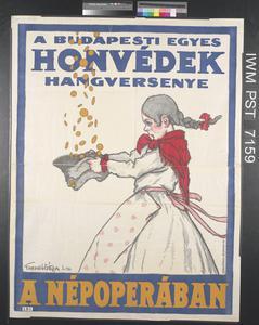 A Budapesti Egyes Honvédek Hangversenye [Concert Given by the First Budapest Home Defence Regiment]