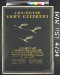 Deutsche Luft Reederei [German Air Freight]