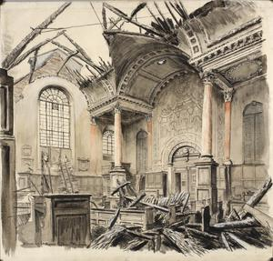 The Church Of St Anne and St Agnes : Gresham Street, EC2 1941