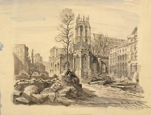 St Alban Church : Wood Street, EC2, 1941