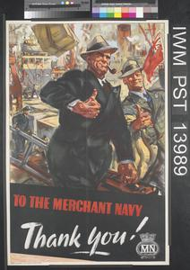 To the Merchant Navy - Thank You!