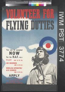 Volunteer for Flying Duties