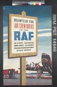 Volunteer for Air Crew Duties