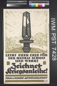 Zeichnet Kriegsanleihe [Subscribe to the War Loan]