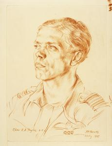 Squadron Leader F D Hughes: DFC and two Bars