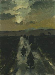 Divisional HQ in Convoy at First Light