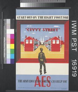 Start Off on the Right Foot for 'Civvy Street'