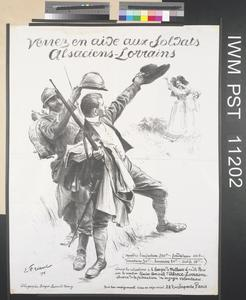 Venez en Aide aux Soldats Alsaciens-Lorrains [Come to the Assistance of the Soldiers of Alsace-Lorraine]