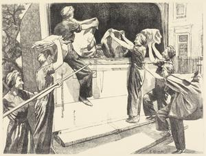 Salvage Workers Women's Work in the War (Other than the Services) - Six lithographs by Ethel Gabain