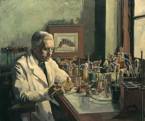 Sir Alexander Fleming, FRS, the Discoverer of Penicillin