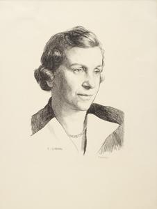 Miss Caroline Haslett, CBE : Director of the Women's Electrical Association