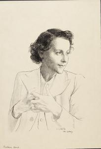 Miss Barbara Ward, Assistant Editor of 'The Economist'