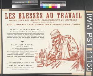Les Blessés du Travail [The Wounded at Work]