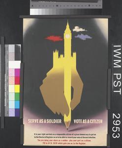 Serve as a Soldier - Vote as a Citizen
