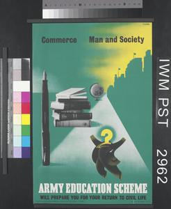 Army Education Scheme - Commerce - Man and Society