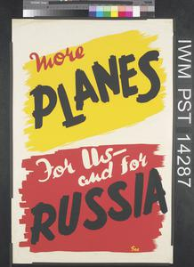 More Planes for Us and for Russia