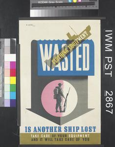 Wasted Clothing, Equipment is Another Ship Lost