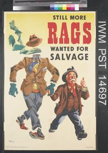 Still More Rags Wanted for Salvage