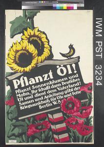 Pflanzt Öl! [Plant Oil!]