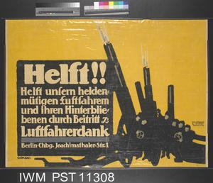 Helft! - Luftfahrerdank [Help! – Thanks to Airmen]