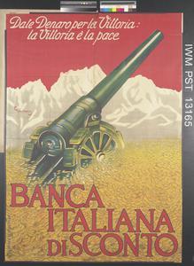 Banca Italiana di Sconto [Italian Discount Bank]