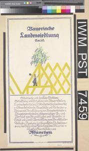 Bayerische Landessiedlung [Bavarian Land Settlement]