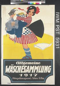 Allgemeine Wäschesammlung 1917 [General Collection of Laundry 1917]