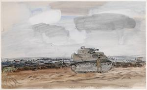 Tank-Driving : 56th Army Training Regiment