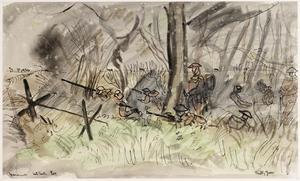 Manoeuvres : a Bren Gun outpost