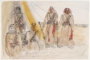 Guard Tent : 2nd Desert Motorised Regt (former Arab Legion)