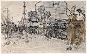 The Boat Deck ; Soldiers and Airmen on Parade 'Convoy' series, 1941 - 1942