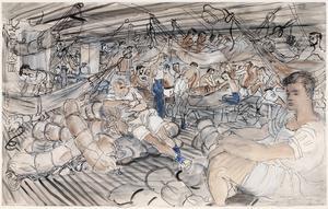 Mess Decks; a Naval Draft 'Convoy' series, 1941 - 1942