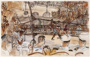A Boxing-match in the Indian Ocean
