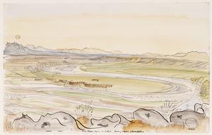 Ain Divar overlooking the River Tigris