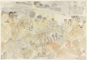 The Battle of Egypt, 1942: Evacuating the Nurses and Staff of a South African Hospital from the Forward Area; In a hospital train