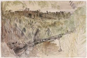 Battle of Arakan, 1943: Overlooking Japanese Positions at Rathedaung