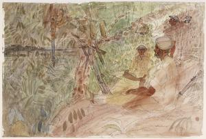 Battle of Arakan, 1943: A Command Post overlooking South Twin Hill