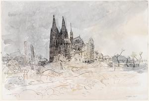 Final Stages of the German War: Cologne Cathedral
