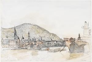 Final Stages of the German War: Heidelberg