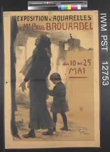 Exposition d'Aquarelles [Exhibition of Watercolours]