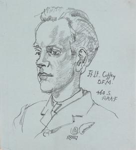 Flight Lieutenant Coffey, DFM : 460 squadron, RAAF