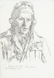 Sergeant G E Fox : Rear Gunner