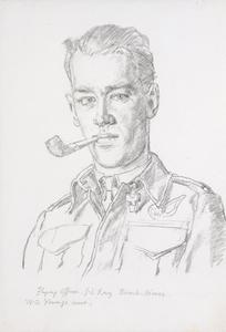 Flight Officer J L Ray : Bomb Aimer