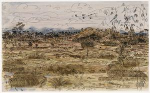 Battle of Arakan, 1943: A View of the Coastal Plain looking towards Donbaik from India