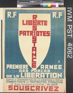 Première Armée des Forces de la Libération [First Army of the Liberation Forces]